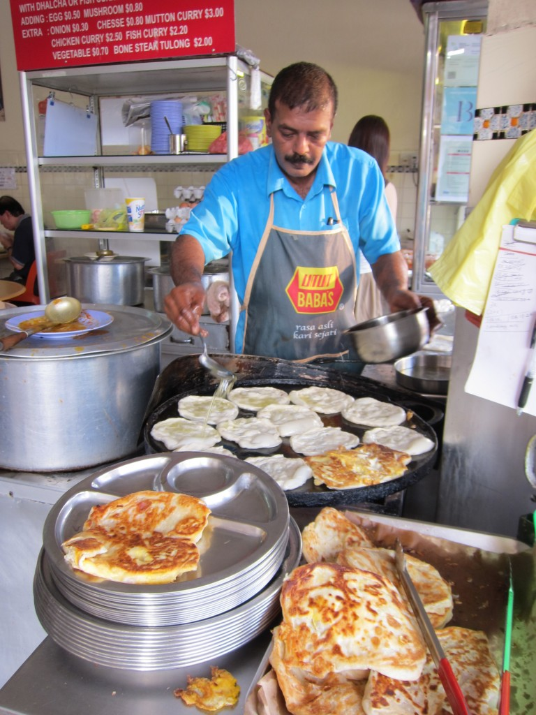 Mr. and Mrs. Mohgan's Suoer Crispy Roti Prata